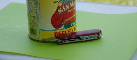 Opening a Can with a Swiss Army Knife
