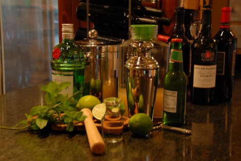 Ingredients for the Gin Gin Mule recipe