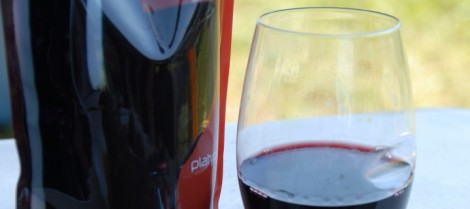 Platypus Wine Preserver and Govino glasses