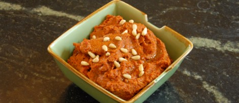 Muhammara Hot Pepper Dip